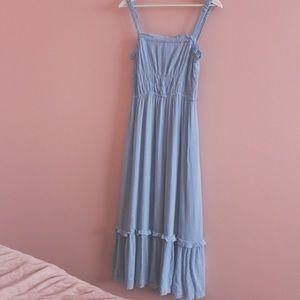 Lost in Lunar Midi Dress